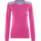 Norrøna Falketind Super Wool Shirt Women Grafitti Pink
